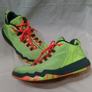 Nike Air Jordan CP3 IX AE Ghost Green size 5Y
